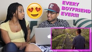 "Couple Reacts : ""EVERY BOYFRIEND EVER"" by Smosh Reaction!!!!"