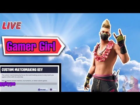 [LIVE] FORTNITE LIVE CUSTOM MATCHMAKING NAE! SOLO/DUO/SQUAD! ALL PLATFORMS | GIRL STREAMER