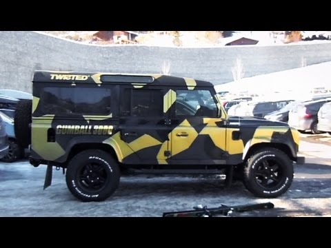 Gumball 3000 (2013): Twisted's Land Rover Defender in the Alps