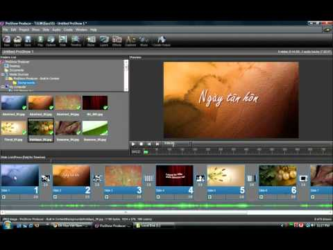 Làm slideshow hình ảnh bằng ProShow Producer - Phan 6