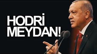 Recep Tayyip Erdoğan - Kurtlar Vadisi Müziği Eşliğinde 2018