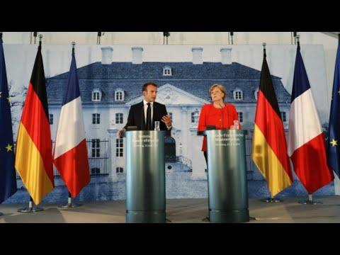 ميركل وماكرون يمهدان الطريق لحزمة إصلاحات حول الهجرة ومنطقة اليورو  - نشر قبل 1 ساعة