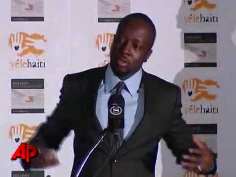 Wyclef Cries for Haitians and Calls for...