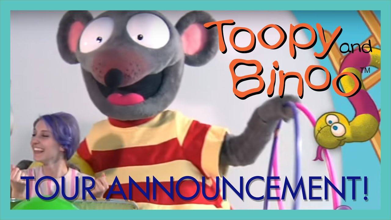 tour announcement toopy and binoo live 2014 youtube