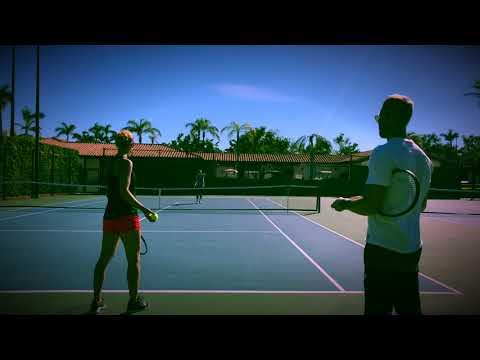 Australian Open 2018 Pre Season patterns  Lucie Safarova   Francesca Schiavone  HD  