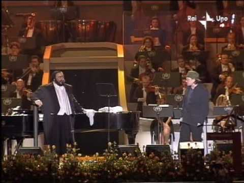 U2 Bono Vox, Zucchero, Pavarotti - Live Pavarotti