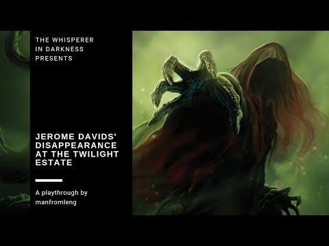 Arkham Horror LCG - Disappearance at the Twilight Estate (Jerome Davids)