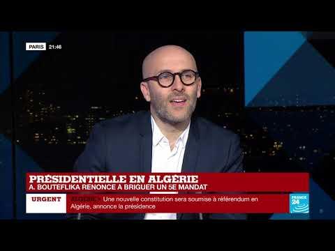 "Abdelaziz Bouteflika renonce à un 5e mandat : ""C"
