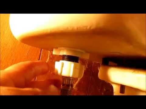 Como Reparar Una Fuga De Agua En La Taza Del Baño Youtube