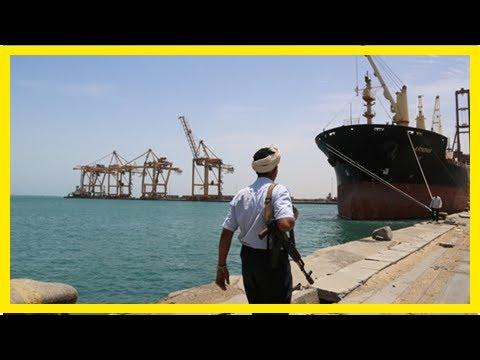 News today-Allied Saudi allows first aid ship in Yemen hodeidah port: local officials