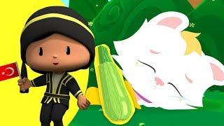 Pepee  Pisi Yemekleri Tanıyalım - Yeni Bölüm - Pepe - Çocuk Şarkıları & Çizgi Film | Düşyeri