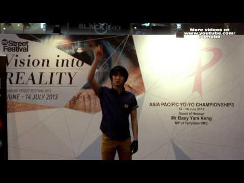 Asia Pacific YoYo Championship 2013 Singapore Freestyle 01