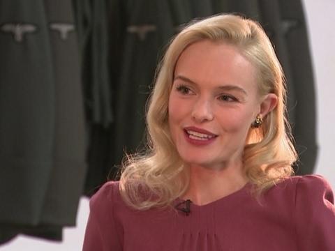 Kate Bosworth's London 'blessing'