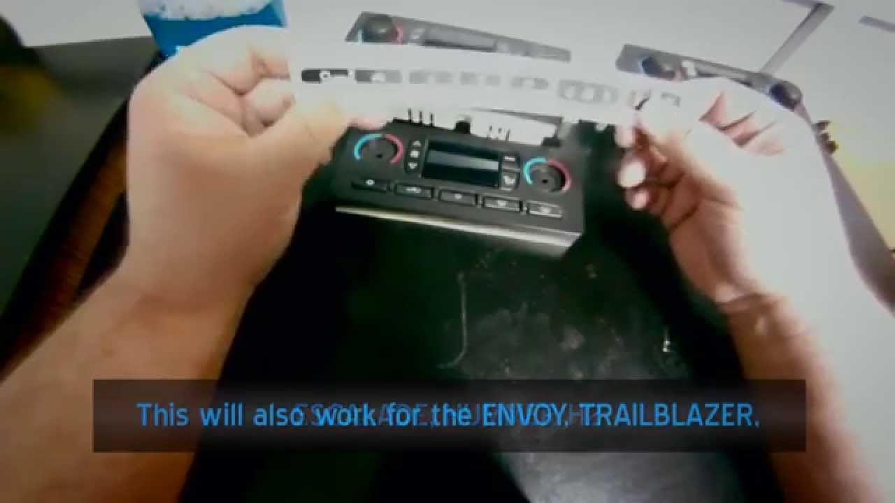 Gm Climate Temperature Control Button Repair Youtube
