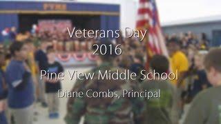 Pine View Middle School - Veterans Day Program