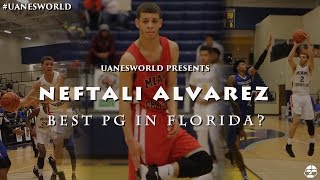 Miami Christian PG Neftali Alvarez is a PROBLEM! | BEST PG IN THE STATE OF FLORIDA?