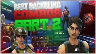 BEST TRYHARD BACKBLING COMBOS PART 2!! TRYHARD SKINS + BACKBLINGS!! NEW FORTNITE BATTLE ROYALE COMBOS
