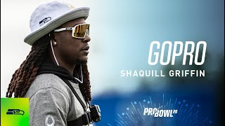 Shaquill Griffin Wears GoPro at 2020 Pro Bowl Practice Day One