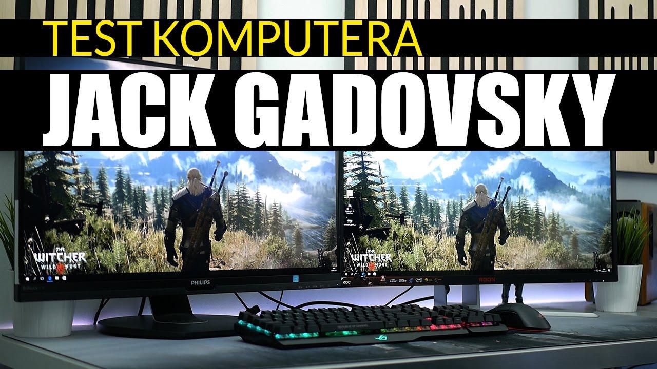 Złożyliśmy komputer dla Jack Gadovsky – TEST!
