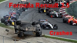 Formula Renault 3.5 Crash Compilation