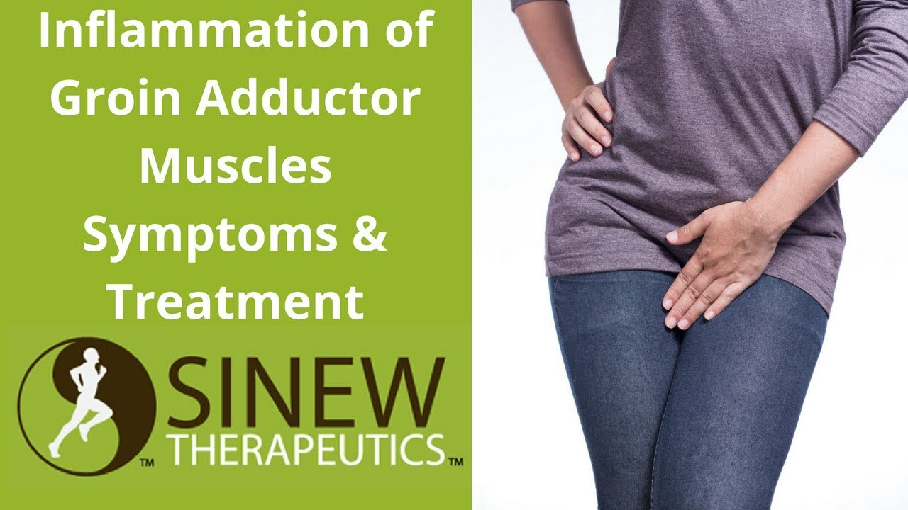 Inflammation of Groin Adductor Muscles Symptoms and Treatment - YouTube