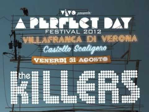 The Killers - Jenny Was A Friend of Mine, A Perfect Day Festival [HQ Audio]