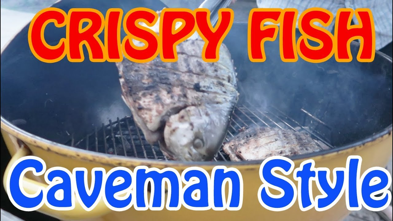 How to grill the whole fish with crispy skin - Small Grate Technique