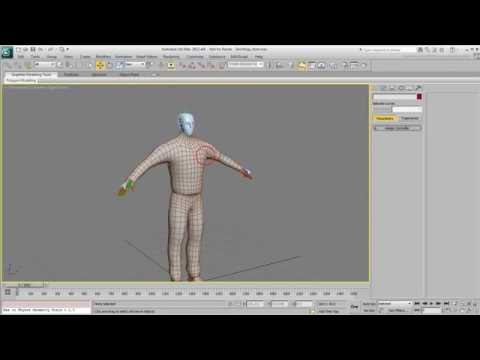 Skin Wrapping in 3ds Max - Part 1 - Variations