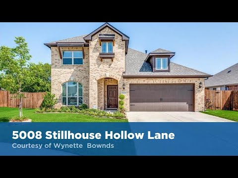 5008 Stillhouse Hollow Lane Denton, Texas 76226 | JP & Associates Realtors | Find Homes For Sale
