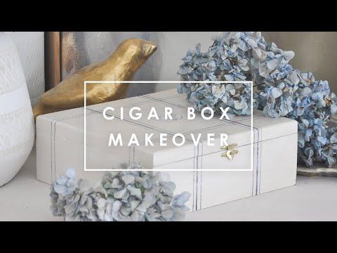 Vintage Cigar Box Got A Makeover