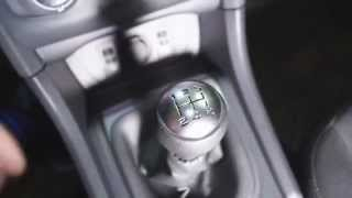 Смазываем кулису КПП Citroen C4