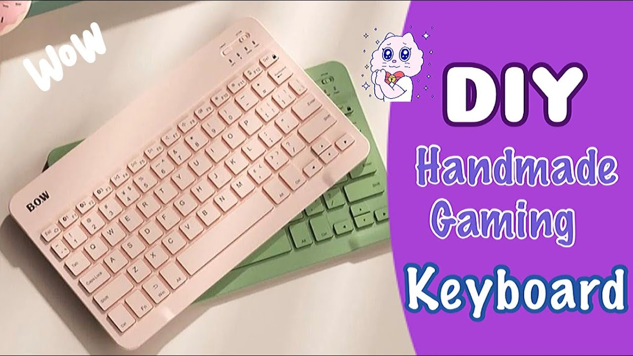 DIY Computer Keyboard ⌨️ / How to make Keyboard with paper / School Projects / Paper Craft Idea