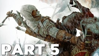 ASSASSIN'S CREED 3 REMASTERED Walkthrough Gameplay Part 5 - DESMOND (AC3)