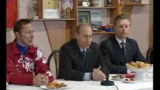 В.Путин.Выступление на встрече.18.01.02(Выступление на встрече с членами олимпийской сборной России 18 января 2002 года Московская область В.ПУТИН:..., 2008-12-21T14:55:22.000Z)