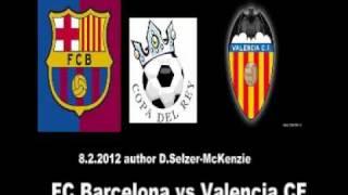 FC Barcelona vs Valencia CF Copa del Rey 8.2.2012 SelMckenzie Selzer-Mckenzie
