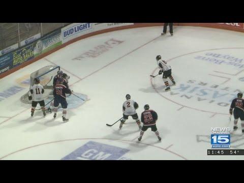 Hockey game benefits USO of Indiana