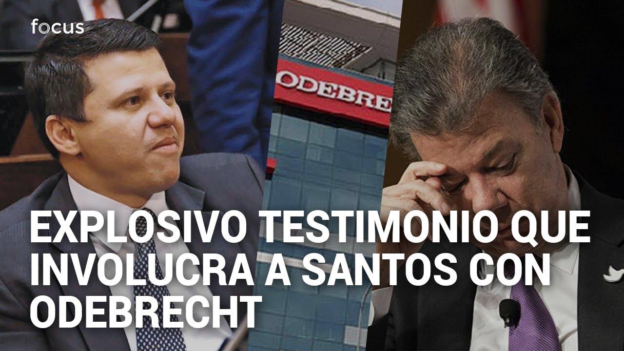 Salpican a Juan Manuel Santos en caso Odebrecht