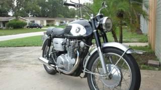 1965 Honda 450 start up
