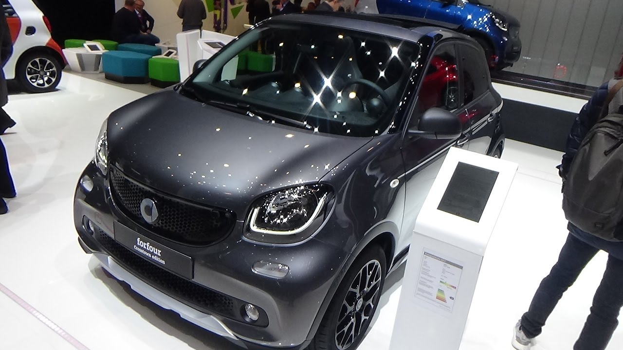 Super 2018 Smart ForFour Crosstown Edition - Exterior and Interior  JH59
