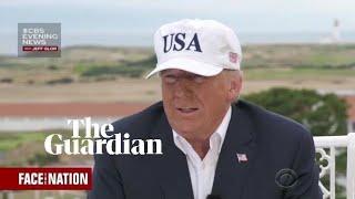 Donald Trump calls the EU a foe during interview in Scotland