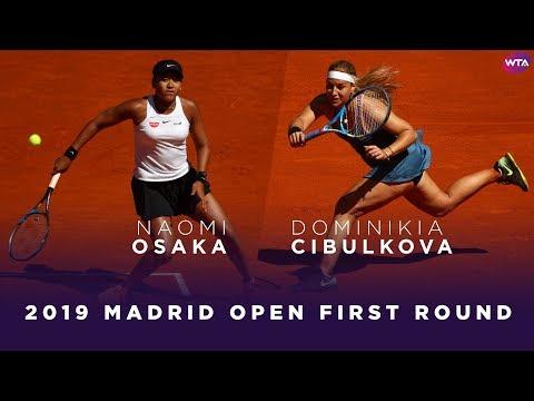 Naomi Osaka vs. Dominika Cibulkova | 2019 Madrid Open First Round | WTA Highlights