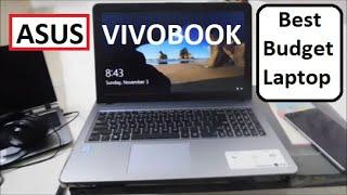 Asus Vivobook Laptop X540UA-GQ682T (15.6 inch, intel i3 7th Gen (4 GB/1TB) Unboxing & Review(Hindi)