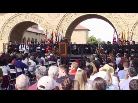 Stanford University 126th Opening Convocation Ceremony