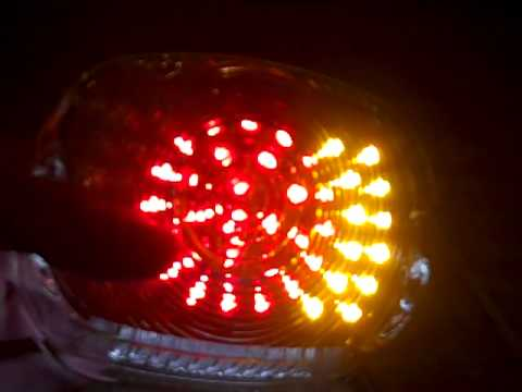 Harley Davidson Led Integrated Tail Light Low Profile