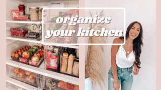 FRIDGE ORGANIZATION! DECLUTTER TIPS!