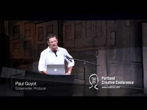 Paul Guyot speaks at the 2016 Portland Creative Conference