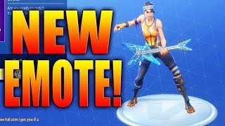 *NEW* ROCK OUT EMOTE! - Daily & Featured Skin Items In Fortnite Battle Royale! April 13, 2018