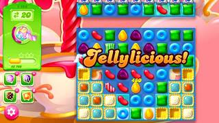 candy crush jelly level 1155 COMPLETE! no booster