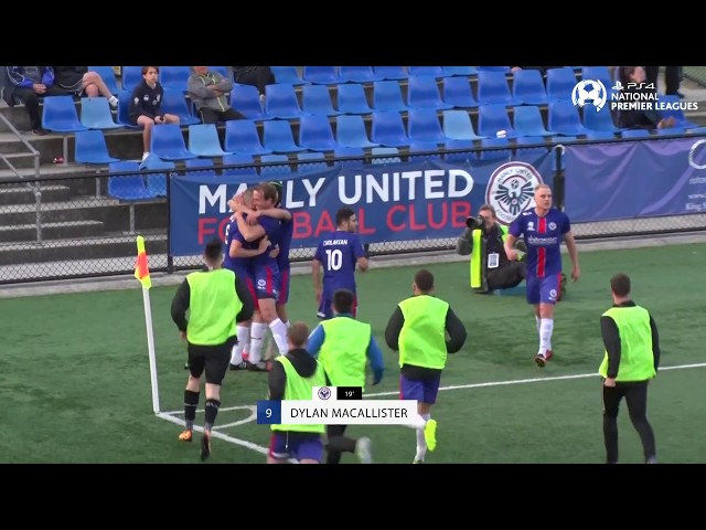 Preliminary Final - Rockdale City Suns vs Manly United -PS4 NPL NSW Men's