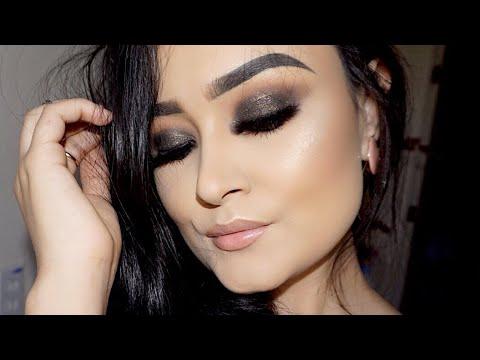 Maquillaje Ahumado en Verde Oscuro | Dark Green Smokey eye Makeup Tutorial | Monika Sanchez